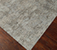 Jaipur Rugs - Hand Knotted Wool and Silk Grey and Black QM-709 Area Rug Floorshot - RUG1066187