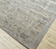 Jaipur Rugs - Hand Knotted Wool and Silk Beige and Brown QM-901 Area Rug Floorshot - RUG1068860