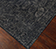 Jaipur Rugs - Hand Knotted Wool and Silk Grey and Black QM-953 Area Rug Floorshot - RUG1066042