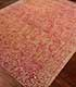 Jaipur Rugs - Hand Knotted Wool and Silk Beige and Brown QM-953 Area Rug Floorshot - RUG1066043