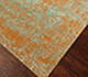 Jaipur Rugs - Hand Knotted Wool and Silk Beige and Brown QM-958 Area Rug Floorshot - RUG1066086