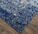 Jaipur Rugs - Hand Knotted Wool and Silk Blue QM-958 Area Rug Floorshot - RUG1061886
