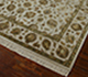 Jaipur Rugs - Hand Knotted Wool and Silk Ivory QNQ-03 Area Rug Floorshot - RUG1023334
