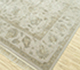 Jaipur Rugs - Hand Knotted Wool and Silk Ivory QNQ-03 Area Rug Floorshot - RUG1075727