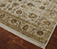 Jaipur Rugs - Hand Knotted Wool and Silk Ivory QNQ-10 Area Rug Floorshot - RUG1024902