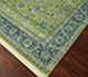 Jaipur Rugs - Hand Knotted Wool and Silk Green QNQ-10 Area Rug Floorshot - RUG1068817