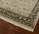 Jaipur Rugs - Hand Knotted Wool and Silk Beige and Brown QNQ-16 Area Rug Floorshot - RUG1024923