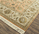 Jaipur Rugs - Hand Knotted Wool and Silk Red and Orange QNQ-21 Area Rug Floorshot - RUG1079255