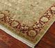 Jaipur Rugs - Hand Knotted Wool and Silk Beige and Brown QNQ-27 Area Rug Floorshot - RUG1023364