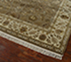 Jaipur Rugs - Hand Knotted Wool and Silk Beige and Brown QNQ-39 Area Rug Floorshot - RUG1041878