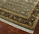 Jaipur Rugs - Hand Knotted Wool and Silk Green QNQ-44 Area Rug Floorshot - RUG1058881