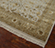 Jaipur Rugs - Hand Knotted Wool and Silk Ivory QNQ-44 Area Rug Floorshot - RUG1050247