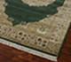 Jaipur Rugs - Hand Knotted Wool and Silk Green QNQ-55 Area Rug Floorshot - RUG1021918