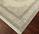 Jaipur Rugs - Hand Knotted Wool and Silk Ivory QNQ-55 Area Rug Floorshot - RUG1074565