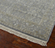Jaipur Rugs - Hand Knotted Wool and Silk Blue QNQ-641 Area Rug Floorshot - RUG1048891