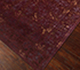 Jaipur Rugs - Hand Knotted Wool and Silk Red and Orange QRA-101 Area Rug Floorshot - RUG1068748