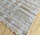 Jaipur Rugs - Flat Weave Wool and Viscose Grey and Black SDWV-01 Area Rug Floorshot - RUG1100266