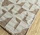Jaipur Rugs - Flat Weave Wool and Viscose Beige and Brown SDWV-03 Area Rug Floorshot - RUG1100268