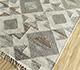 Jaipur Rugs - Flat Weaves Wool and Viscose Beige and Brown SDWV-05 Area Rug Floorshot - RUG1099835