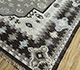 Jaipur Rugs - Flat Weave Wool and Viscose Ivory SDWV-102 Area Rug Floorshot - RUG1099780