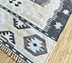 Jaipur Rugs - Flat Weave Wool and Viscose Ivory SDWV-106 Area Rug Floorshot - RUG1100279