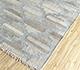 Jaipur Rugs - Flat Weave Wool and Viscose Beige and Brown SDWV-11 Area Rug Floorshot - RUG1100285