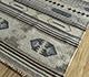 Jaipur Rugs - Flat Weave Wool and Viscose Beige and Brown SDWV-113 Area Rug Floorshot - RUG1100289