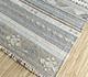 Jaipur Rugs - Flat Weave Wool and Viscose Blue SDWV-114 Area Rug Floorshot - RUG1099782