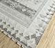 Jaipur Rugs - Flat Weave Wool and Viscose Ivory SDWV-116 Area Rug Floorshot - RUG1100397
