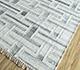Jaipur Rugs - Flat Weave Wool and Viscose Ivory SDWV-125 Area Rug Floorshot - RUG1099815