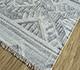 Jaipur Rugs - Flat Weave Wool and Viscose Ivory SDWV-130 Area Rug Floorshot - RUG1099839