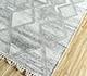 Jaipur Rugs - Flat Weave Wool and Viscose Ivory SDWV-134 Area Rug Floorshot - RUG1100297