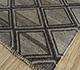 Jaipur Rugs - Flat Weave Wool and Viscose Beige and Brown SDWV-137 Area Rug Floorshot - RUG1099787