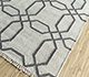 Jaipur Rugs - Flat Weave Wool and Viscose Ivory SDWV-139 Area Rug Floorshot - RUG1100299