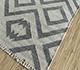 Jaipur Rugs - Flat Weave Wool and Viscose Ivory SDWV-14 Area Rug Floorshot - RUG1099843