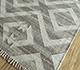 Jaipur Rugs - Flat Weave Wool and Viscose Ivory SDWV-14 Area Rug Floorshot - RUG1099822