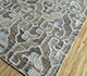 Jaipur Rugs - Flat Weave Wool and Viscose Beige and Brown SDWV-143 Area Rug Floorshot - RUG1100303