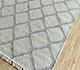 Jaipur Rugs - Flat Weave Wool and Viscose Ivory SDWV-15 Area Rug Floorshot - RUG1100307