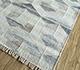Jaipur Rugs - Flat Weave Wool and Viscose Blue SDWV-152 Area Rug Floorshot - RUG1100311