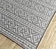 Jaipur Rugs - Flat Weave Wool and Viscose Beige and Brown SDWV-163 Area Rug Floorshot - RUG1099847
