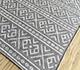 Jaipur Rugs - Flat Weave Wool and Viscose Beige and Brown SDWV-171 Area Rug Floorshot - RUG1099854