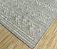 Jaipur Rugs - Flat Weave Wool and Viscose Beige and Brown SDWV-176 Area Rug Floorshot - RUG1099789