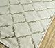 Jaipur Rugs - Flat Weave Wool and Viscose Beige and Brown SDWV-178 Area Rug Floorshot - RUG1099859