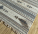Jaipur Rugs - Flat Weave Wool and Viscose Beige and Brown SDWV-25 Area Rug Floorshot - RUG1099792