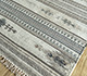 Jaipur Rugs - Flat Weave Wool and Viscose Ivory SDWV-25 Area Rug Floorshot - RUG1099866