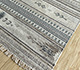 Jaipur Rugs - Flat Weave Wool and Viscose Beige and Brown SDWV-25 Area Rug Floorshot - RUG1099793