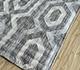Jaipur Rugs - Flat Weave Wool and Viscose Ivory SDWV-29 Area Rug Floorshot - RUG1100390