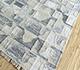 Jaipur Rugs - Flat Weave Wool and Viscose Beige and Brown SDWV-34 Area Rug Floorshot - RUG1100329