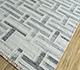 Jaipur Rugs - Flat Weave Wool and Viscose Ivory SDWV-37 Area Rug Floorshot - RUG1099819