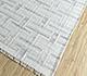 Jaipur Rugs - Flat Weave Wool and Viscose Ivory SDWV-37 Area Rug Floorshot - RUG1099872
